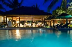 ombak-laut-pool-and-living-room-at-night
